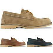 Red Wing Shoes - Red Wing Wacouta Camp Moc Toe Shoe - Camel Copper Navy - Bnib