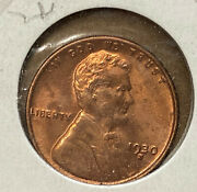 1930 S Lincoln 1andcent Red Bu A2