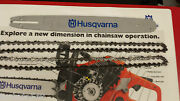 18 Chainsaw Bar And 2 Chains Husqvarna 455 And 460 Rancher