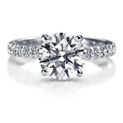 9600 1.31 Carat Solitaire Diamond Engagement Ring White Gold I2 51644437