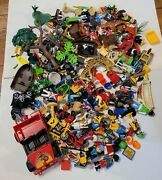 Playmobil Geobra Figures Parts Accessories Lot Animals People Weapons Vehicles