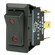 Cole Hersee Sealed Rocker Switch W/small Round Pilot Lights Spdt On-off-on 4