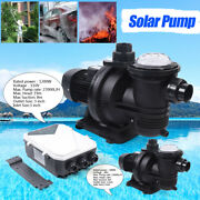 500w 900w 1200w In/above Ground Solar Swimming Pool Pump Dc Brushless Motor