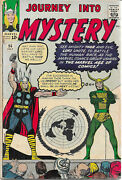 Thor Journey Into Mystery 94 1963 Comic Book With Art By Kirby Sinnott And Ditko