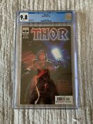 Thor 5 2020 Cgc 9.8 White Pages 1st Appearance Of Black Winter Marvel Comics
