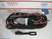 Western 61437 Fisher 8275 Genuine 9-pin Plow Control Wire Harness For Relay-type