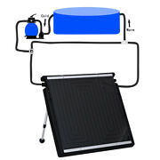 Swimming Pool Solar Heating Panel Water Warmer For Above-ground Pools Filtration
