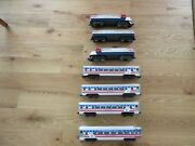 Lionel Preamble Express Loco With Williams Bicentennial Aluminum Passenger Cars