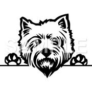 West Highland Terrier Decalsticker Car Truck Window Vinylchoice Of 1 Any Color