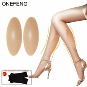 Silicone Leg Onlays Silicone Calf Pads For Crooked Or Thin Legs Body Beauty