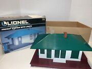 Lionel Trains Freight Station With Lights 6-1282 0-027 Gauge Nib Open Box