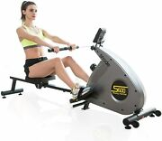 Snode Magnetic Rowing Machine Folding Exercise Rower W/12 Level Resistance