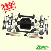 5 F And R Suspension Lift Kit Fits Gmc 2500hd Pickup 2wd/4wd 2011-2019 Zone