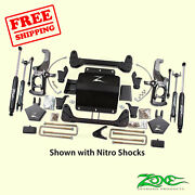 5 F And R Suspension Lift Kit For Chevy 2500hd Pickup 2wd/4wd 2011-2019 Zone