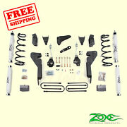 6 F And R Suspension Lift Kit Fits Dodge Ram 1500 Mega Cab 4wd Gas 2006-2007 Zone