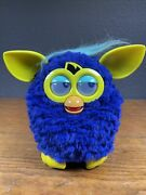 Furby Boom 2012 Blue Yellow Hasbro Talking Interactive Works Tested