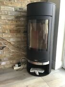 Never Been Used Vigo 6kw Wood Burning Stove And Entire Flue System.