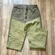 Wrangler Menand039s Rugged Wear Brush Guard Hunting Pants 34x32 Brown Outdoor Usa