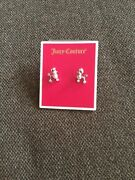 Juicy Couture Poodle Earrings