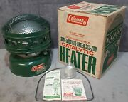 Vintage Mar. 1970 Brand New In Box Unfired Coleman 513-700 Catalytic Heater Usa