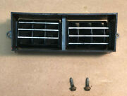 1971 1972 And Other Fords Mustangs Center A/c Adjustable Vent And Screws Oem