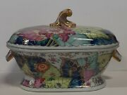 Mottahedeh Tobacco Leaf Tureen And Lid