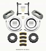 Wilwood Tx6r Front Kit 15.00in Clear Ano 2011-2015 Gm Truck/suv 2500 - Wil140-13