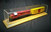 Model Railroad Army Train Engine And Box Freight Ho Scale Locomotive