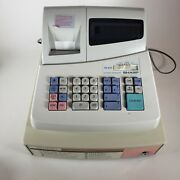 Sharp Electronic Cash Register Xe-a101 With Keys. Works