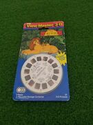 Vintage 1994 Disney The Lion King Viewmaster View Master 3 Reels Tyco 3-d New