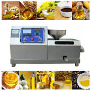 Electric Oil Press Machine Automatic With Large Motor Sesame 900350500mm
