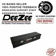 Dee Zee Dz8556b Red Label Single Lid Utility Chest Tool Box With Slanted Front
