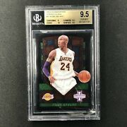2013-14 Innovation Kobe Bryant Stained Glass Green Bgs 9.5 11