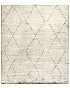 Jaipur Living Ammil Hand-knotted Trellis Cream/ Black Area Rug 8and039x10and039