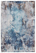 Vibe By Jaipur Living Comet Abstract Blue/ Brown Area Rug 10'x14'