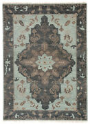 Jaipur Living Savona Hand-knotted Medallion Green/ Dark Gray Area Rug 8and039x10and039
