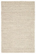 Jaipur Living Alta Handmade Solid Gray/ White Area Rug 9and039x12and039