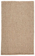 Jaipur Living Oceana Natural Solid Light Gray/ Tan Area Rug 10and039x14and039