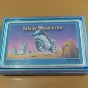 Famicom Playing Cards Mach Rider Unused Old Fashion Vintage Antique