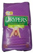 Vintage Drypers Diapers Baby Infant Nappy Size 1 34 Ct Sealed Retro Vtg 2000