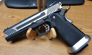 Aw Custom 1911 Airsoft Full Blow Back Competition Pistol Great Shape Lqqk