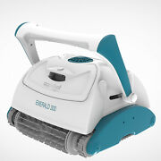 Aquabot Emerald 300 App Automatic Robot Ultrafine Ground Pool Cleaner Used