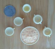 Vintage Barbie Clone Lot/6 Mac And Cheese, 2 Bowls 2 Cups Goblet Completer Diorama