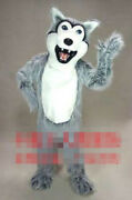Wolf Mascot Costume Suits Cosplay Party Game Dress Outfits Advertising Christmas