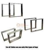 Iron Coffee Table Legs Set Of 2. Steel Legs For Bench Desk Dining Table Tops