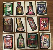 1974 Wacky Packages Series 9 Near Complete Set Of 21/29 Stickers