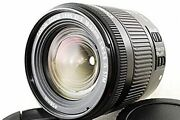 Used Canon Standard Zoom Lens Ef-s18-55mm F4.0-5.6is Stm Aps-c Compatible