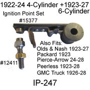 Buick New Ignition Point Set All 6 Cyl. 1924 - 1927