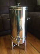 Dw Haber 3 Gallon Stainless Steel Vacuum Insulated Coffee Urn With Dispenser