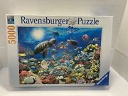 Ravensburger Under The Sea 5000 Piece Jigsaw Puzzle -new Factory Sealed 60 X 40